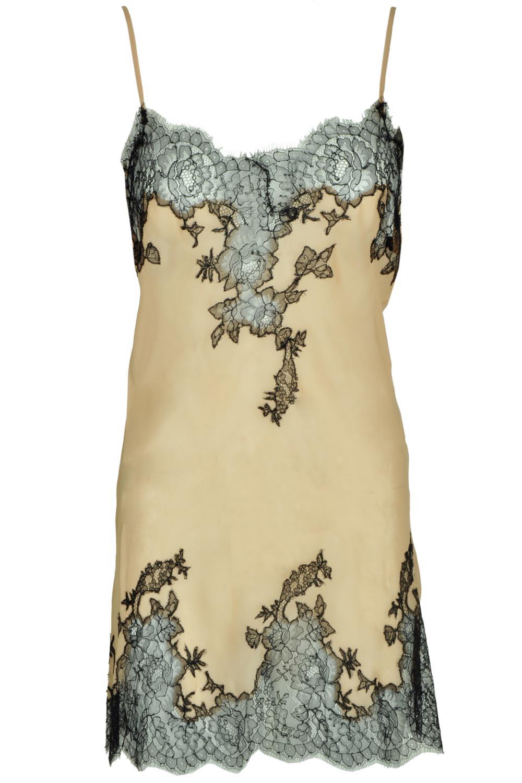 Marjolaine Slip-Dress Detail Geschenkidee zu Weihnachten